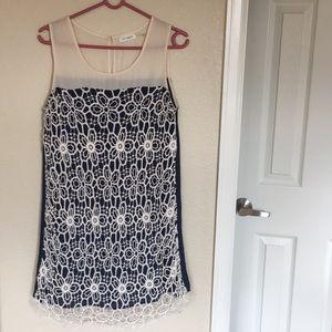 Mod tank / mini dress